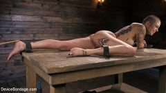 Leigh Raven - Alternative Pain Slut Leigh Raven Gets Whipped, Caned, and Clamped (Thumb 07)