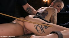 Leigh Raven - Alternative Pain Slut Leigh Raven Gets Whipped, Caned, and Clamped (Thumb 12)