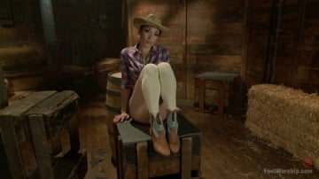 Lily LaBeau - Cowgirl Boots, Knee Socks and Sweaty Toes