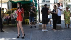 Lilyan Red - Walk of Shame Slut Lilyan Red, Disgraced, Humiliated, Fucked in Public (Thumb 02)