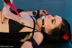Lorelei Lee - High voltage electro-domination! Juliette March and Lorelei Lee (Thumb 11)