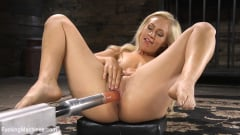 Lyra Law - Sexy As Fuck Blonde Babe is Machine Fucked (Thumb 01)
