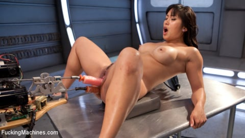 Kink 'Fast Machine Fucking and Double Penetration Fucking!!' starring Mia Li (Photo 13)