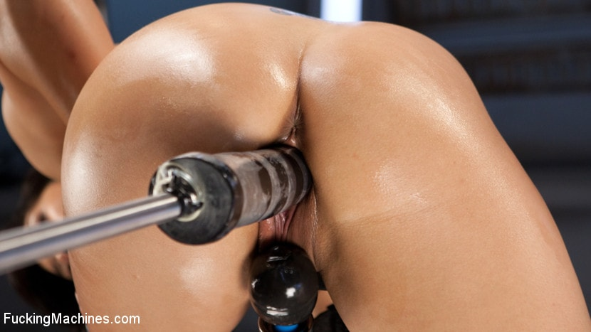 Kink 'Fast Machine Fucking and Double Penetration Fucking!!' starring Mia Li (photo 15)