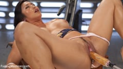 Mia Li - Fast Machine Fucking and Double Penetration Fucking!! (Thumb 10)