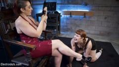 Mistress Kara - How Much Will You Take: Electroslut Barbary Rose Serves Mistress Kara (Thumb 15)