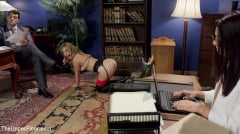 Mona Wales - 18 year old Submissive Secretary Takes Her Sexual Punishment (Thumb 06)