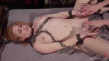 Mona Wales - Property of Mona Wales: Horny Pain Slut Sophia Locke Submits!