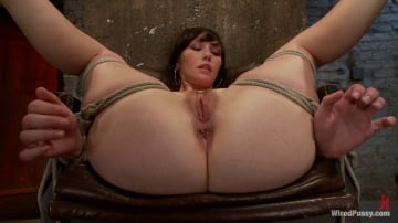 Natalie - Total Amateur Gets Tied up and Dominated for the First time Ever