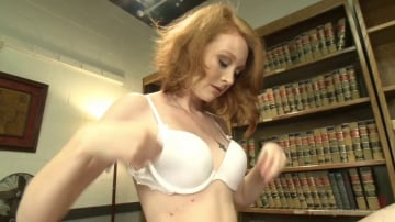 Nathalie Lawson - BRAND NEW NEVER SHOT PORN BEFORE RED HEAD HOTTIE WITH TIGHT PUSSY!