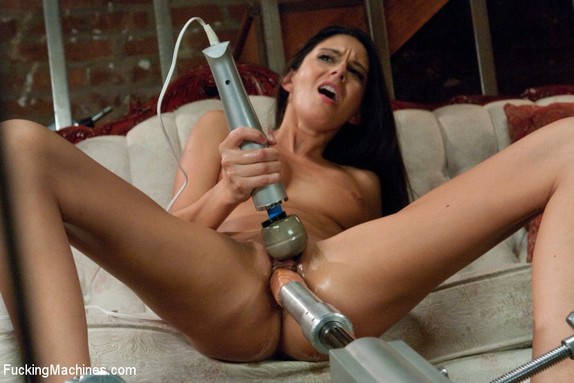 Kink 'MILF POWER: 1 huge clit, 1 giving pussy, 3 hardcore FuckingMachines' starring Nikki Daniels (photo 9)
