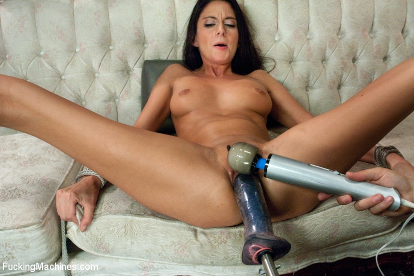 Kink 'MILF POWER: 1 huge clit, 1 giving pussy, 3 hardcore FuckingMachines' starring Nikki Daniels (photo 16)