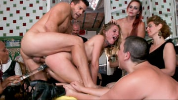 Nikki Darling - Fancy Party Interrupted To Tame The Feral Princess of Filth!