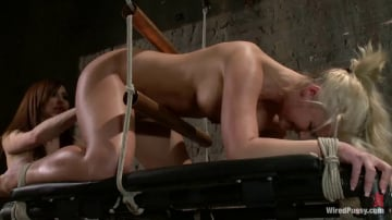 Phoenix Marie - Phoenix Marie gets her ass Fisted in Bondage!!!!