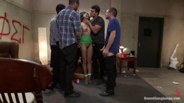 Krissie Dee - The Pledge: Sorority Initiation Featuring Krissie Dee's First Gangbang