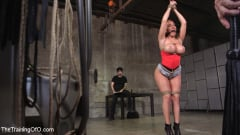 Richelle Ryan - Big Ass-ed MILF Richelle Ryan Trained and Fucked in Rope Bondage!! (Thumb 03)