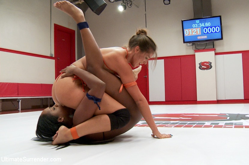 Kink 'Rookie is Sexually Destroyed on the Mat. Left in a puddle of shame' starring Rilynn Rae (photo 6)
