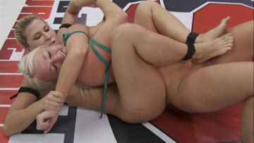 Rizzo Ford - Beautiful, Powerful Blonde Wrestler is Destroyed on the Mats
