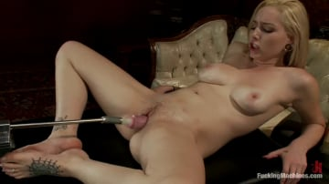 Rylie Richman - Home Alone and Horny: Machine Fucking a New Girl