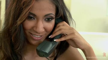Sadie Santana - Step-father offers her up to 5 guys in order to seal a business deal.