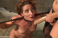 Savannah Fox - Sadistic Lesbian Prison: Squirting, anal and fisting! (Thumb 16)