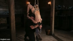Serena Blair - Girl Next Door Serena Blair Restrained and Made to Cum in Rope Bondage (Thumb 05)