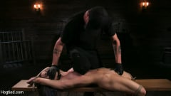 Serena Blair - Girl Next Door Serena Blair Restrained and Made to Cum in Rope Bondage (Thumb 10)