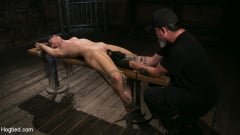 Serena Blair - Girl Next Door Serena Blair Restrained and Made to Cum in Rope Bondage (Thumb 12)