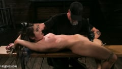 Serena Blair - Girl Next Door Serena Blair Restrained and Made to Cum in Rope Bondage (Thumb 13)