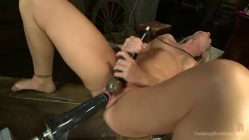 Simone Sonay - MILF MACHINE - Simone Sonay Takes on the F Machines