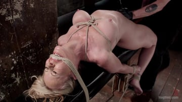 Simone Sonay - MILF Masochist in Tight Bondage