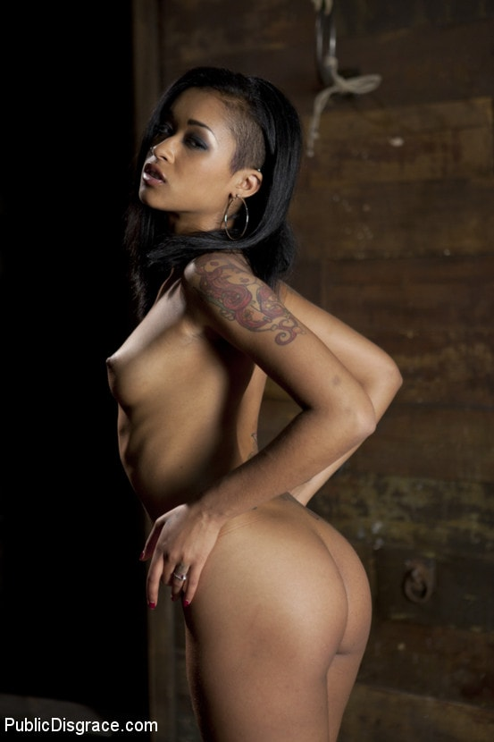Kink 'Beautiful Fetish Model is Pushed to her Limits and Pounded Hard in the Ass' starring Skin Diamond (photo 2)