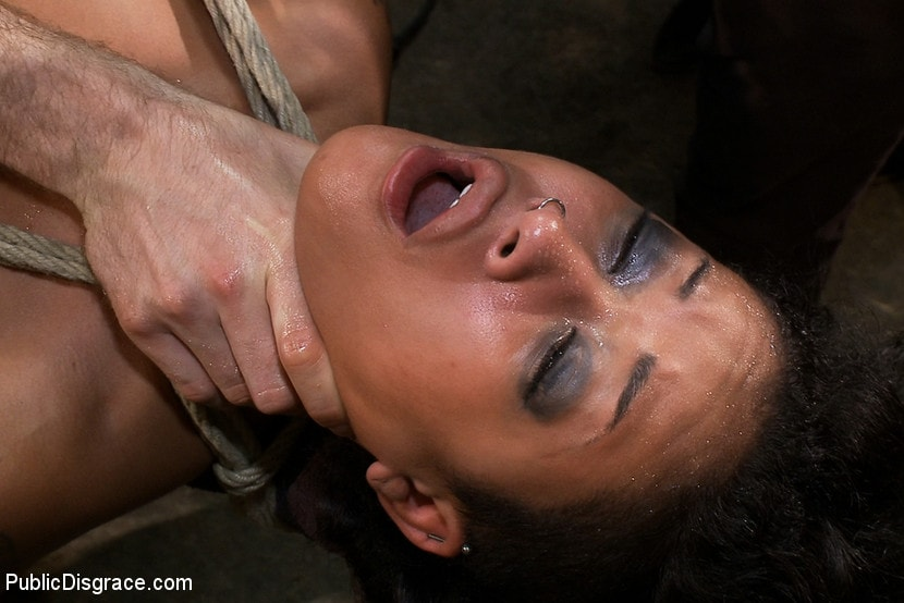 Kink 'Beautiful Fetish Model is Pushed to her Limits and Pounded Hard in the Ass' starring Skin Diamond (photo 8)