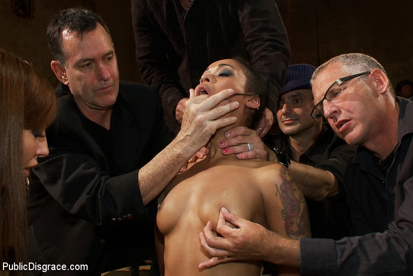 Kink 'Beautiful Fetish Model is Pushed to her Limits and Pounded Hard in the Ass' starring Skin Diamond (photo 15)