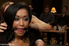 Skin Diamond - Beautiful Fetish Model is Pushed to her Limits and Pounded Hard in the Ass (Thumb 11)