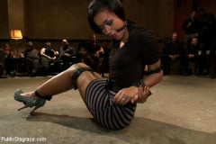 Skin Diamond - Beautiful Fetish Model is Pushed to her Limits and Pounded Hard in the Ass (Thumb 13)