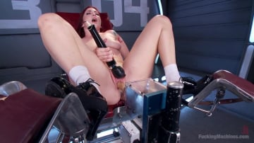 Sophia Locke - Feeding Her Insatiable Appetite with Machine Fucking!!