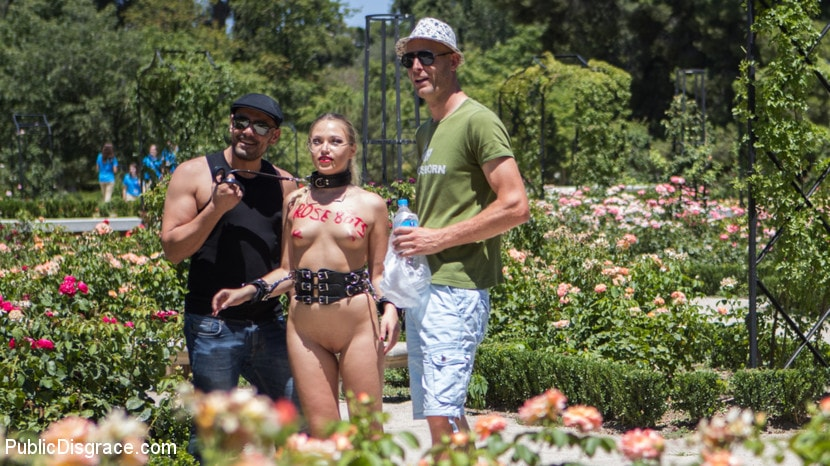 Kink 'Perky Blonde Selvaggia Fully Nude in Public Gets Anal Fisted and DP'd' starring Tina Kay (photo 3)