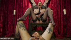 Veruca James - Disobedient Masturbating Slave Punished and Fucked with a Fat Cock (Thumb 07)