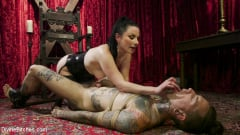 Veruca James - Disobedient Masturbating Slave Punished and Fucked with a Fat Cock (Thumb 12)