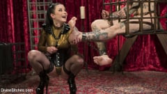 Veruca James - Disobedient Masturbating Slave Punished and Fucked with a Fat Cock (Thumb 14)