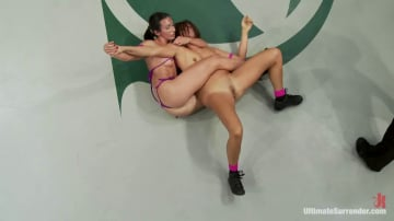 Wenona - Two buff athletes wrestle it out to see who gets to brutally fuck and humiliate the other.