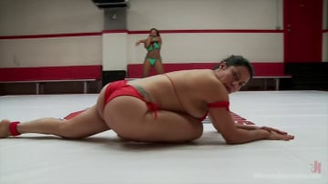 Yasmine Loven - Welter Weight Bout, Big Tits and Big Asses battle for the right to fuck the loser