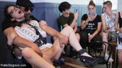Zenda Sexy - Public Shame Slut Zenda Sexy Disgraced, Tickled, and Fucked by a Crowd (Thumb 11)