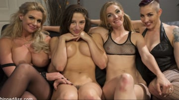 Abella Danger - Dyke Bar 3: Abella Danger fisted, DP'd and dominated by wild lesbians!