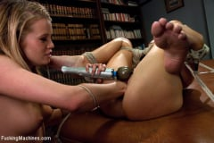 Aiden Aspen - Guidance Counselor Confidential: Fisting a Milf in Bondage, Machine Fucking a Rookie in the Ass (Thumb 02)
