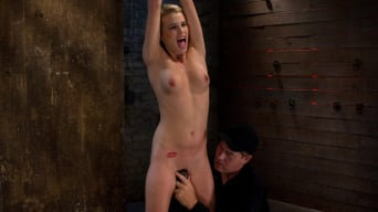 Aiden Aspen in 'Southern Belle in her first hardcore bondage experience Abused, made to cum, and wrist suspended.'