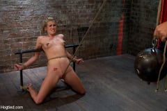 Aiden Aspen - Tiny Southern Belle pushed to her limits, back arched, made to cum hard Cruelest crotch rope ever (Thumb 08)
