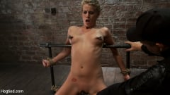 Aiden Aspen - Tiny Southern Belle pushed to her limits, back arched, made to cum hard Cruelest crotch rope ever (Thumb 16)