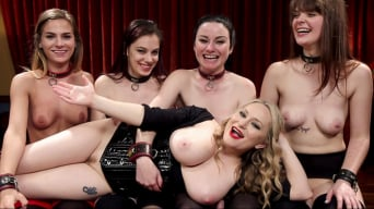 Aiden Starr in '100 Orgasm Slave Girl Orgy'